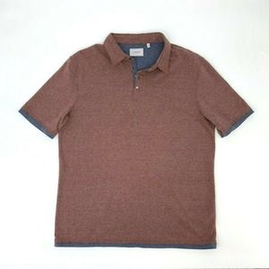 7 Diamonds Polo Shirt Short Sleeve Lt Brown